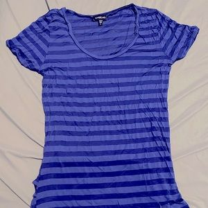 Bebe Hi-Low Fitted Semi-sheer Tshirt *Authentic*